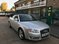 AUDI A4 CABRIOLET 2.0 T FSI SPORT MT 2007 Full service history 78000 miles paddle shift gears