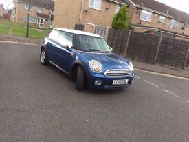 2007 MINI Cooper Hatch 1.6 Cooper 3 Door Blue with White Roof Excellent Runner