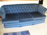 3 seater sofa and 2 armchairs in excellent condition - need quick sale