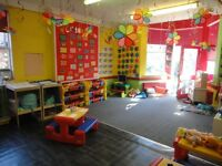 nursery in whalley range to rent fully fitted ready to open