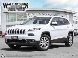 2016 JEEP CHEROKEE LIMITED: ACCIDENT FREE, ONE OWNER, FULLY LOA