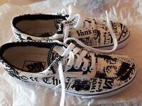 New Vans ERA Sneakers Newsprint size UK 6