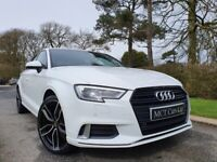 Dec 2017 Audi A3 1.6 TDI 116 Sport 4dr S Tronic TECH PACK, VIRTUAL COCKPIT, BLACK ED STYLING, WHEELS