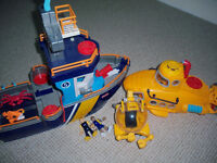 Imaginext Ocean Boat and Submarine