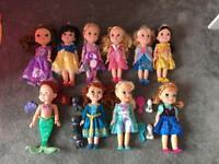 10 x Disney toddler dolls