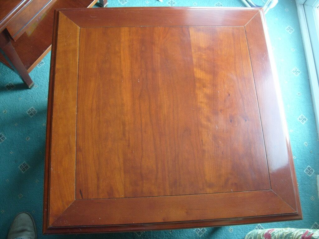 Good Quality Grange France Solid Cherry Lamp Side Table In  # Table Grange France