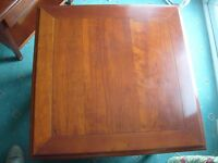 Good Quality GRANGE France Solid Cherry Lamp Side Table