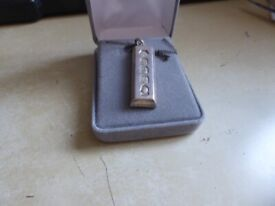 lovely Silver Ingot necklace, quite weighty