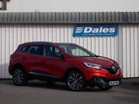Renault Kadjar 1.5 dCi Signature Nav 5Dr EDC Hatchback (flame red) 2016