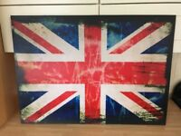 "Union Jack canvas print 36"" x 26"""
