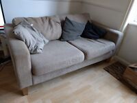secondhand 3 seater sofa - to be picked up ASAP