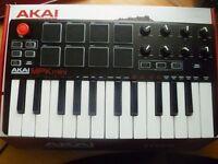 Akai MPK Mini MK2 & Accessories - Perfect Condition