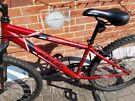 Red  Bike - age 8 plus
