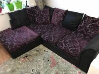 Corner sofa £130.00