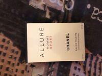 Chanel Allure and Chanel Bleu Eau De Parfum