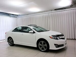 2012 Toyota Camry SE SEDAN w/ SUNROOF, NAVIGATION, HEATED SEATS,