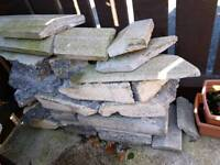 Free used concrete blocks & coping stones RUBBLE