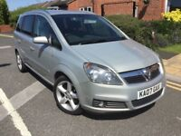 7 SEATS, GREAT SPEC 07 ZAFIRA 1-8SRi, 7 SERVICES, NEW CLUTCH, CAMBELT CHANGED £1495 P/EXS CARDS, DEL