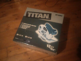 brand new boxed 240v titan cicular saw