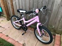 Ridgeback melody 16 inch kids bike