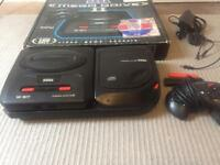 Sega mega cd 2 and Megadrive 2 bundle