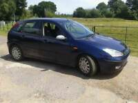 BREAKING FORD FOCUS 2003 GHIA TDCI GOOD ENGINE BLACK LEATHER ELECTRIC SEATS
