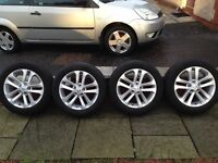 Nissan Juke Alloy Wheels and Winter Tyres