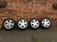 15inch Renault alloy wheels