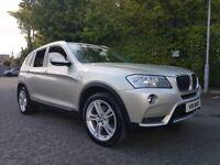 BMW, X3, Xline 20d Auto 2011,
