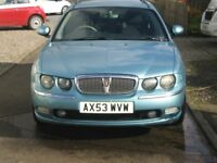 BLUE ROVER 75cdti Estate (with the famous B.M.W engine)
