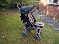 Maclaren Techno XLR Black/Champagne Single Seat Stroller
