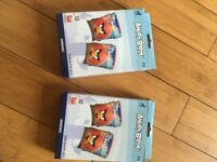 Angry Birds arm bands - 2 pairs - never used