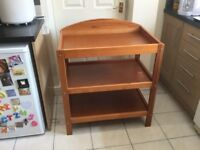 Pine Baby Changing Table - Excellent Condition
