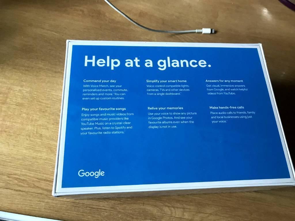 Google home hub brand new mever been opened   in Ely, Cambridgeshire    Gumtree