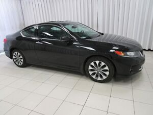 2014 Honda Accord RARE - EXL COUPE WITH LEATHER AND NAVIGATION