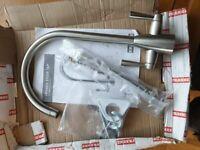 Franke Eiger brushed kitchen tap