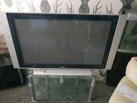 50'' flat screen TV with stand