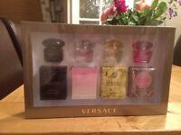 Versace miniature perfumes gift set
