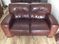 Barker and stonehouse sofa leather