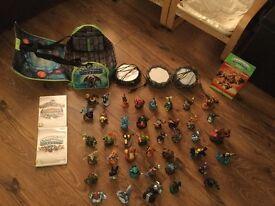 SKYLANDERS FOR WII - Includes games, portals, bag & figures