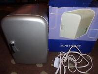 Boxed Mini Fridge Like new