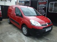 CITROEN BERLINGO 1.6 HDi L1 625 LX Panel Van 5dr (red) 2013