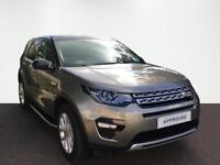 Land Rover Discovery Sport TD4 HSE (silver) 2017-03-16