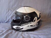 Scorpion Exo 1000 AIR motorcycle crash helmet Size S 56cm with cloth bag