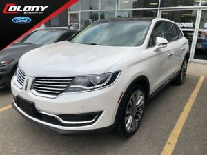2018 Lincoln MKX COMPANY DEMO, 0% LEASE OR 0.99% FINANCE!