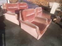 Sofa - 2 + 1 + 1 Seater Comfy Sofa Set