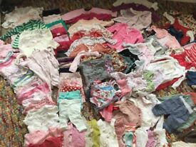 Lovely bundle of baby clothes 3-6 month