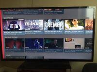 Celcus 42inc led Tv + smart box