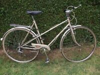 Vintage Raleigh Misty Unisex Town Bike. Mixte Frame. Latest Hot Trend