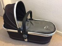 ICANDY PEACH CARRYCOT AS NEW